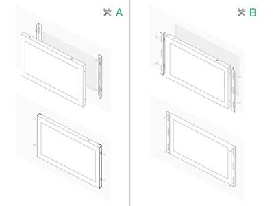 19 Zoll Touchscreen Metall (5:4)