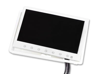 Monitor 7 pollici (bianco)