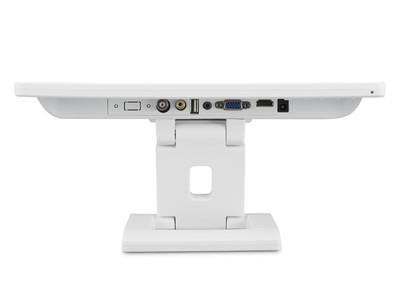 Écran 13 pouces (blanc) - Connectiques hdmi vga bnc rca