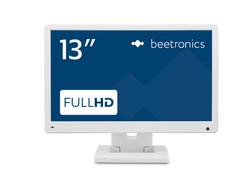 13 Zoll Monitor (Weiß) - Vorderansicht