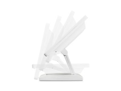 Écran 12 pouces (blanc) - réglable pliable