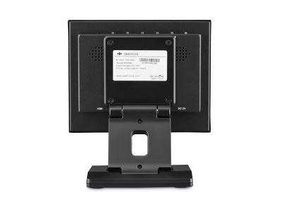 8 Zoll Monitor Metall (4:3) Rückseite